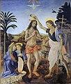 Verrocchio, Leonardo da Vinci - Battesimo di Cristo.jpg
