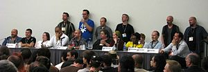 Vertigo (DC Comics) - Panel of Vertigo comics creators at San Diego ComicCon 2007.