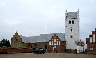 Vester Hassing - The church in Vester Hassing