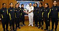 Vice Admiral AK Chawla flags off an all women high altitude expedition to Mount Deotibba, Himachal Pradesh - 2018 (1).jpg