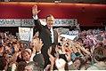 Vice President Bush attends a campaign rally in Omaha, Nebraska. 28 Oct 88.jpg