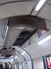 air conditioning tube. Tube Trains[edit] Air Conditioning