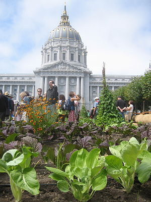 Slow Food Nation - Image: Victory gardens at slow food nation