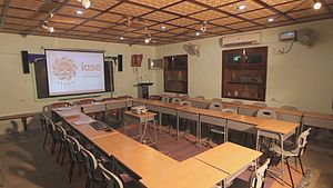 Institute of Advanced Studies in Education - Video Lecture Room is to conduct Lectures with internationally acclaimed professors.