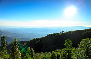 Doi Inthanon - Image: View from Doi Inthanon