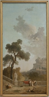 View from a Terrace (Hubert Robert) - Nationalmuseum - 21559.tif