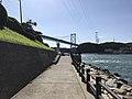 View of Cape Moji Lighthouse and Kammonkyo Bridge.jpg