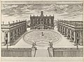 View of the Campidoglio as re-designed by Michelangelo from the 'Speculum Romanae Magnificentiae' MET DP844272.jpg