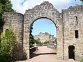 View through the arch at Culzean Castle - geograph.org.uk - 1437124.jpg