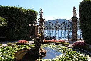 Villa Carlotta - Image: Villa Carlotta Main Entrance