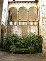 Villa reale di marlia, villa del vescovo, cortile 04.JPG