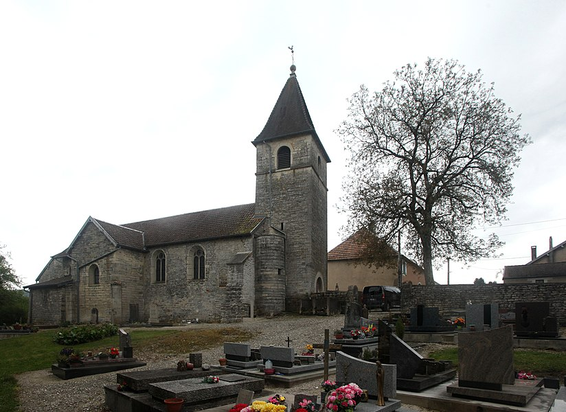Église de Villars-Saint-Georges (Doubs).