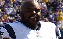 Description de l'image Vince Wilfork 2014.jpg.