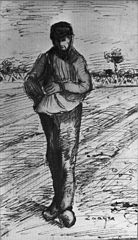Sower with Hand in Sack