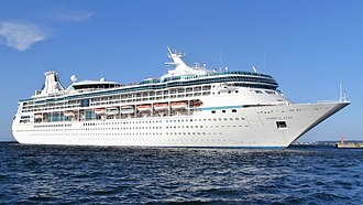 Vision-class cruise ship - Image: Vision of the Seas departing Tallinn 19 August 2013 (cropped)
