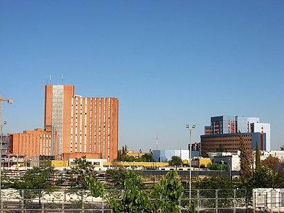 Cómo llegar a Hospital Universitario 12 De Octubre en transporte público - Sobre el lugar