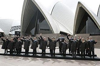 APEC Australia 2007 - APEC Australia 2007 delegates