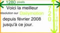 Voici la meilleur résolution (1280 pixels x 720) sur Dailymotion depuis février 2008 jusqu'à ce jour.png