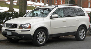 Volvo XC90 photographed in Annapolis, Maryland...