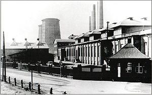 Aluminium - Aluminium factory in Griesheim, Germany, constructed in 1915
