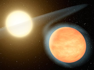 WASP-12b - Image: WASP 12b a Hot, Carbon Rich Planet