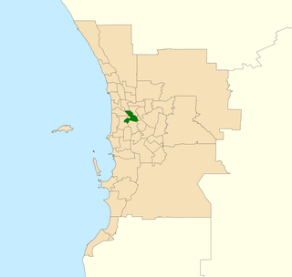Electoral district of Perth State electoral district of Western Australia