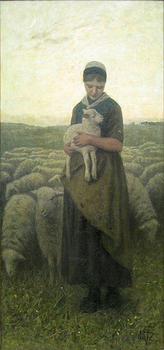Adolph Artz - Image: WLANL artanonymous Terugkeer van de kudde