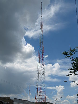 WSBC - Image: WSBC Radio Tower Full View 1