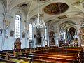 Waldkirch, Stiftskirche St. Margarethen, Innenansicht, Blick nach Nordosten 2.jpg
