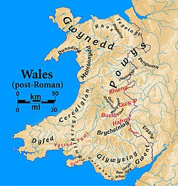 Wales In The Early Middle Ages Wikipedia