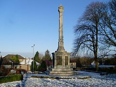 Wallace's Monument in Elderslie