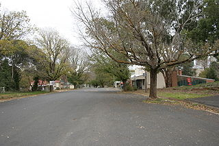 Wallendbeen Town in New South Wales, Australia