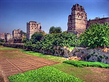 Photo des remparts de Constantinople