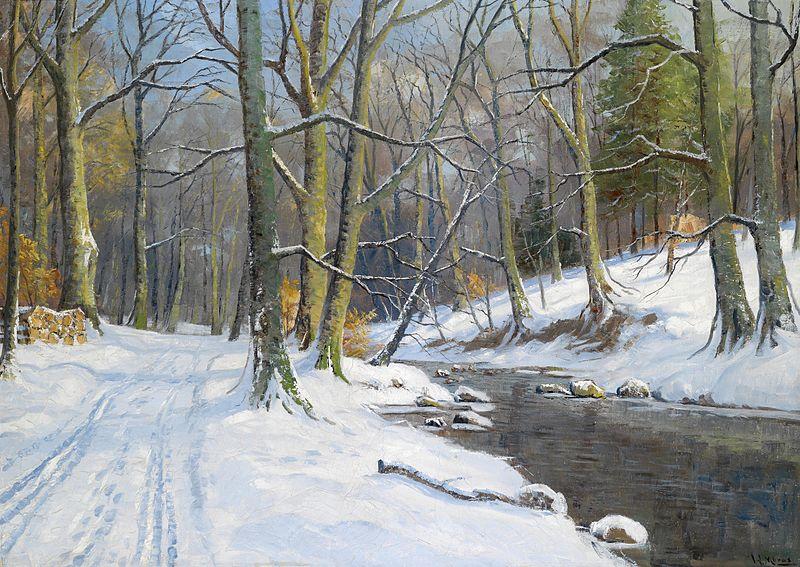 File:Walter Moras - Bachlandschaft im Winter.jpg