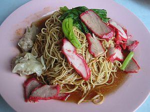 Wonton noodles - Wanton Noodle of Batu Pahat, Johor