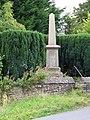 War Memorial, Pilton - geograph.org.uk - 1498690.jpg