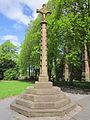 War memorial at St Chad's Church, Kirkby.jpg