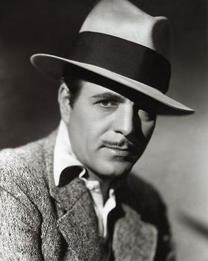 1951 in film - The Oscar winner Warner Baxter publicity photo.