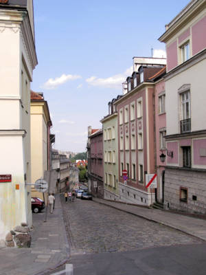 Bednarska street in the Old Town
