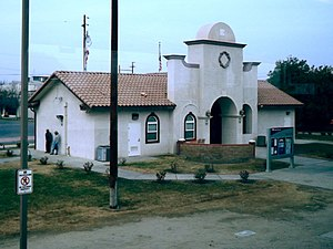 Wasco, California - Image: Wasco, California, train station