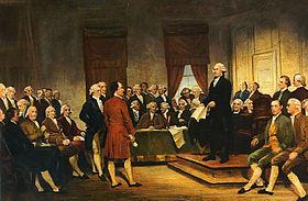 Washington Constitutional Convention 1787.
