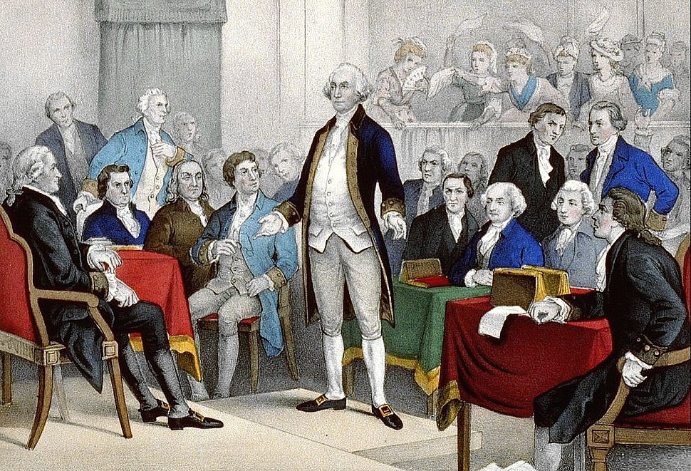 Washington promotion by Continental Congress