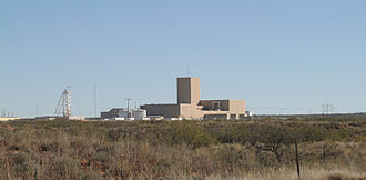 Waste Isolation Pilot Plant - WIPP, a geological repository for radioactive waste