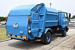 Waste collection truck(Hino Ranger) right rear view at JASDF Miho Air Base May 27, 2018.jpg