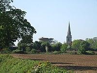 Water Tower and Church, Ridgmont - geograph.org.uk - 422745.jpg
