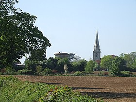 Water Tower and Church, Ridgmont - geograph.org.uk - 422745.jpg