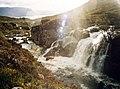 Waterfalls between Liatach and Beinn Alligin - geograph.org.uk - 44162.jpg