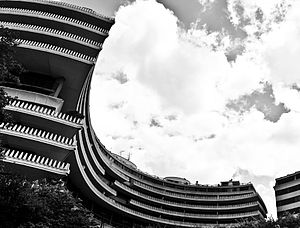 Watergate complex - Characteristic architecture of the Watergate complex