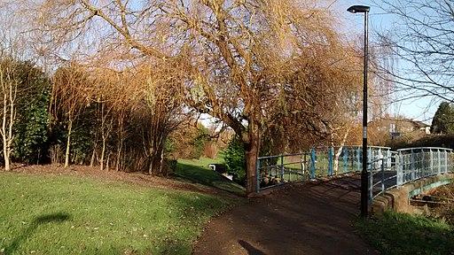 Waterlink Way in Sydenham