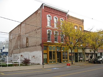 Waverly, Tioga County, New York - Downtown Waverly